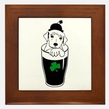 Cute Guiness Framed Tile