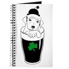Cute Lucky dog Journal