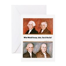 What Would They Do? Greeting Card