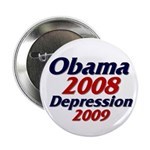 """Depression '09 2.25"""" Button (100 pack)"""
