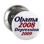 """Depression '09 2.25"""" Button"""