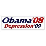 Depression '09 Bumper Sticker