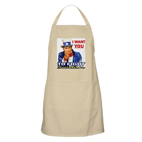 IWY Fight Socialism - Reagan BBQ Apron