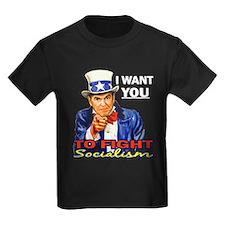IWY Fight Socialism - Reagan T