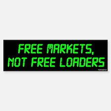 Free Markets Bumper Bumper Bumper Sticker