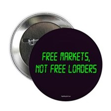 """Free Markets 2.25"""" Button (100 pack)"""