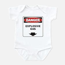 Danger Explosive Onesie