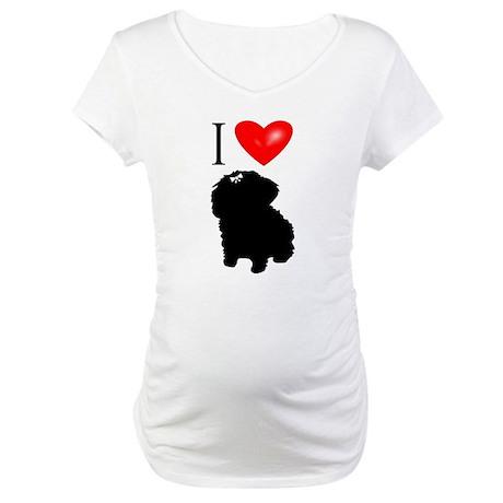LUV Maltese Maternity T-Shirt