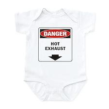 Danger Exhaust Onesie