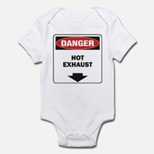 Danger Exhaust Onesie