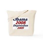 Depression '09 Tote Bag