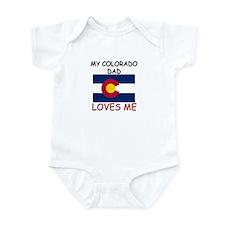 My COLORADO DAD Loves Me Infant Bodysuit