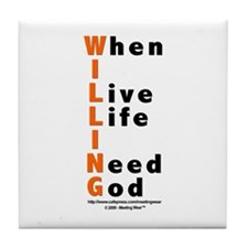 WILLING Tile Coaster