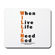 WILLING Mousepad