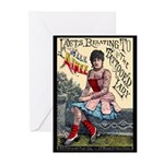 Tattooed Lady Aimee Vintage Advertising Print Gree