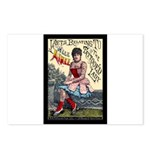 Tattooed Lady Aimee Postcards (package Of 8)