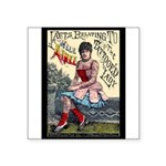 Tattooed Lady Aimee Vintage Advertising Print Stic