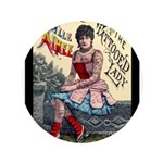 Tattooed Lady Aimee Vintage Advertising Print 3.5