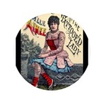 Tattooed Lady Aimee Vintage Advertising Print Butt