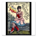 Tattooed Lady Aimee Vintage Advertising Print Squa