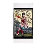 Tattooed Lady Aimee Vintage Advertising Print Beac