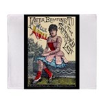 Tattooed Lady Aimee Vintage Advertising Print Thro
