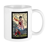 Tattooed Lady Aimee Vintage Advertising Print Mugs
