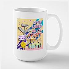 Feisty 50 Large Mug