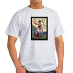 Tattooed Lady Aimee Vintage Advertising Print T-Sh