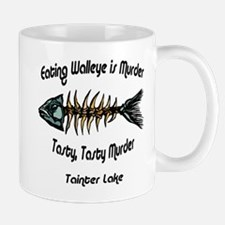 Eating Walleye is Murder Mug