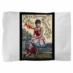 Tattooed Lady Aimee Vintage Pillow Sham