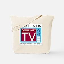 Community TV Tote Bag