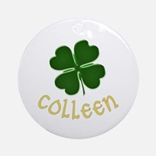 Colleen Irish Ornament (Round)