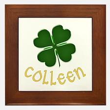 Colleen Irish Framed Tile