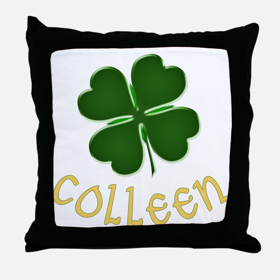 Colleen Irish Throw Pillow