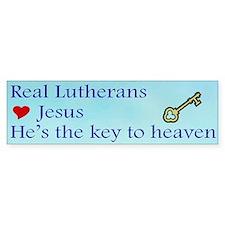 Jesus the Key to Heaven Bumper Bumper Sticker