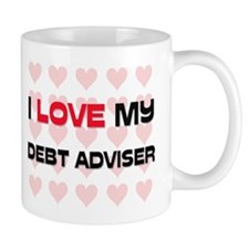 I Love My Debt Adviser Mug