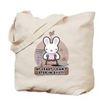 Bad Luck Bunny Tote Bag