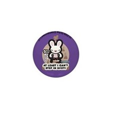 Bad Luck Bunny Mini Button