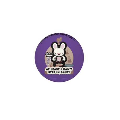 Bad Luck Bunny Mini Button