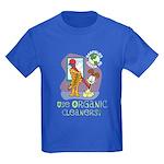 Organic Cleaners Kids Dark T-Shirt