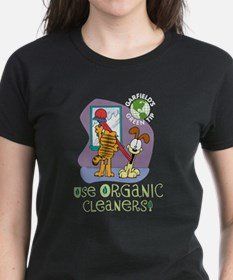 Organic Cleaners Women's Black T-Shirt
