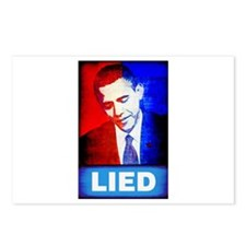 Obama Lied Postcards (Package of 8)