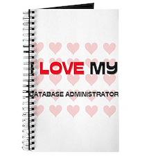 I Love My Database Administrator Journal