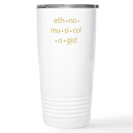 Original Ethnomusicologist Travel Mug