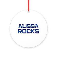 alissa rocks Ornament (Round)