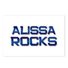 alissa rocks Postcards (Package of 8)