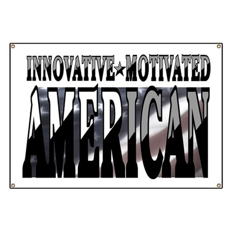 AMERICAN MOTIVATED Banner