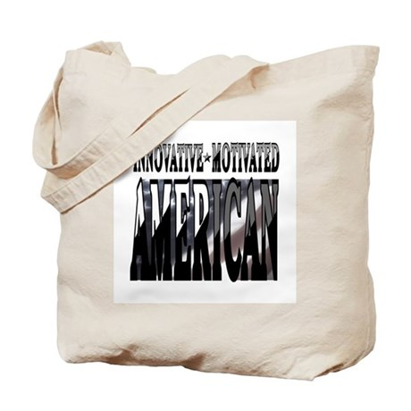 AMERICAN MOTIVATED Tote Bag
