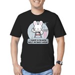 Bad Luck Bunny Karate Men's Fitted T-Shirt (dark)